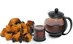 Preparing infusions from Chaga